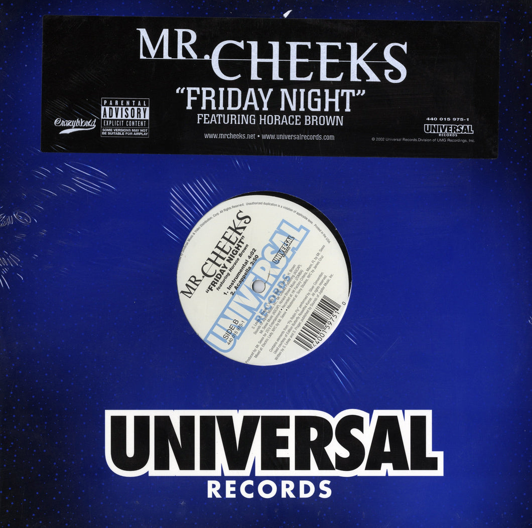 Mr. Cheeks - Friday Night  (Single) [12
