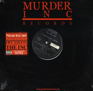 "Murder Inc - Ride Wit Us/1 Hearse 2 Suburbans 12"" Vinyl"