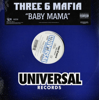Three 6 Mafia - Baby Mama (Single) 12