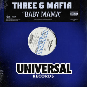 "Three 6 Mafia - Baby Mama (Single) [12"" Vinyl]"