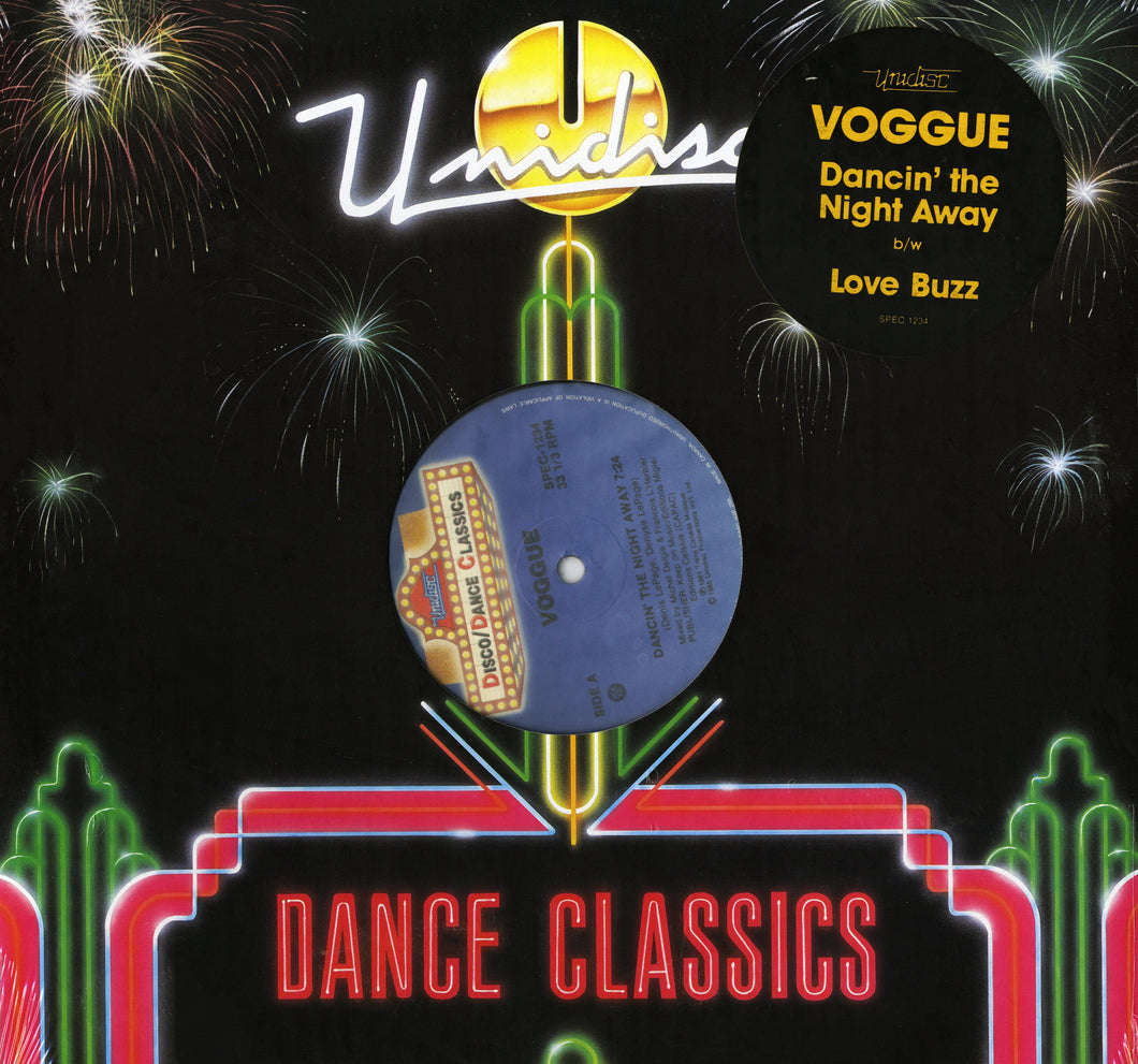 Voggue - Dancin' The Night Away/Love Buzz (12