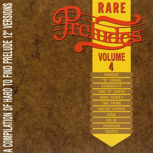 Various Artists - Rare Preludes, Vol. 4