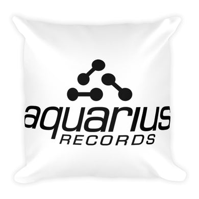 Aquarius Records Square Pillow