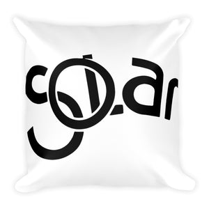 SOLAR Records Square Pillow