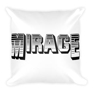 Mirage Records Square Pillow