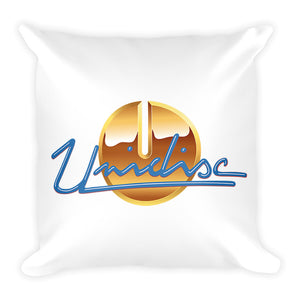 Unidisc Square Pillow