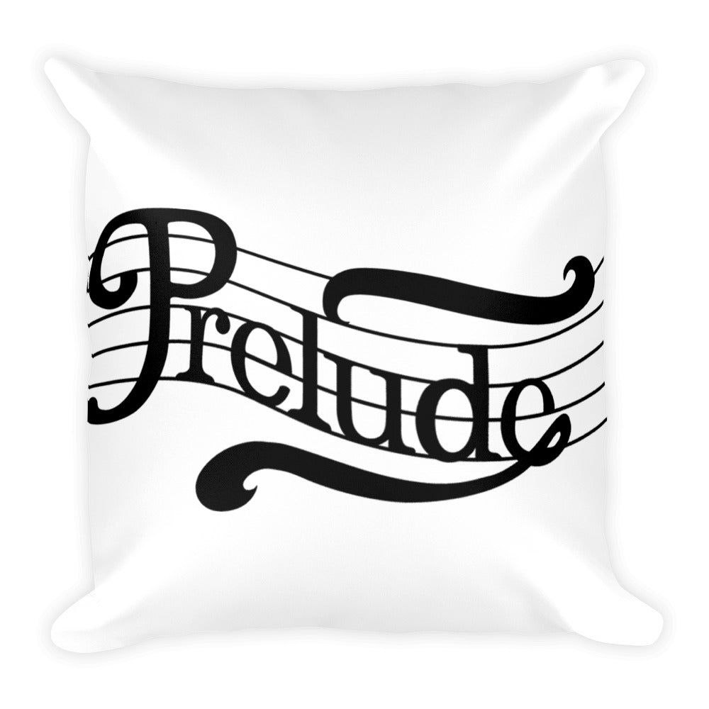Prelude Records Square Pillow