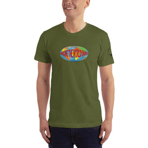 "Unidisc ""Making the World Dance"" Retro Logo T-Shirt"