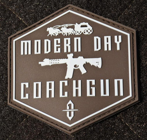 "AR 15 morale patch: ""Modern Day Coachgun"""
