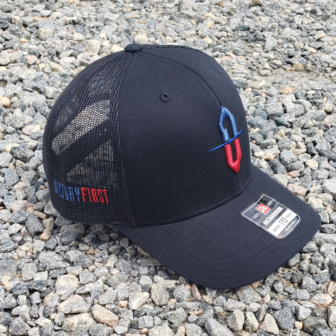 Victory First Structured trucker hat