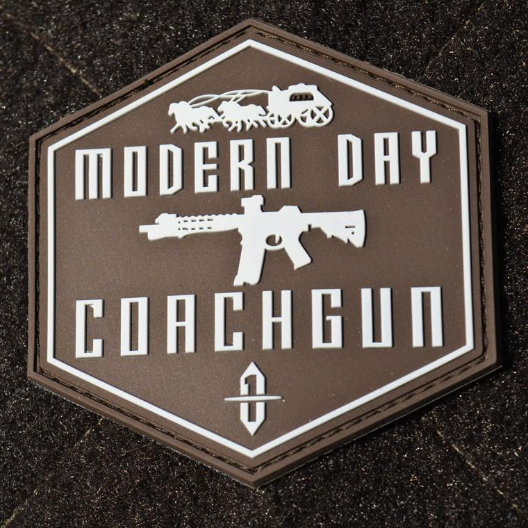 Modern Day Coachgun Shield PVC Patch