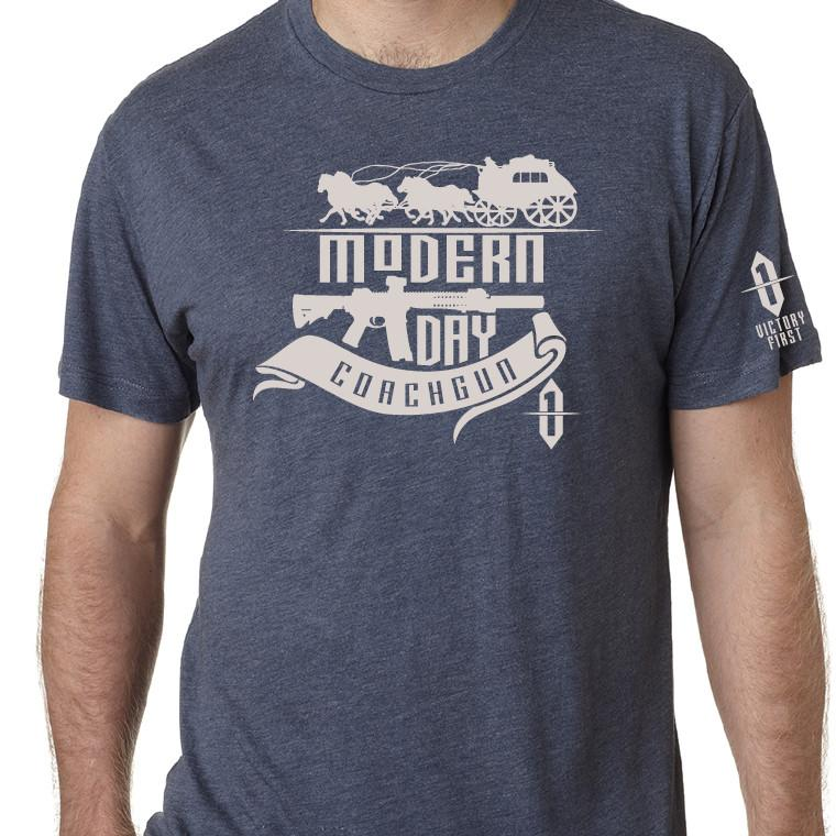 Modern Day Coachgun Old West T Shirt