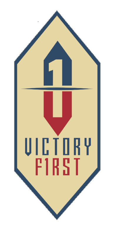 "Victory First Diamond ""Badge"" Decal"