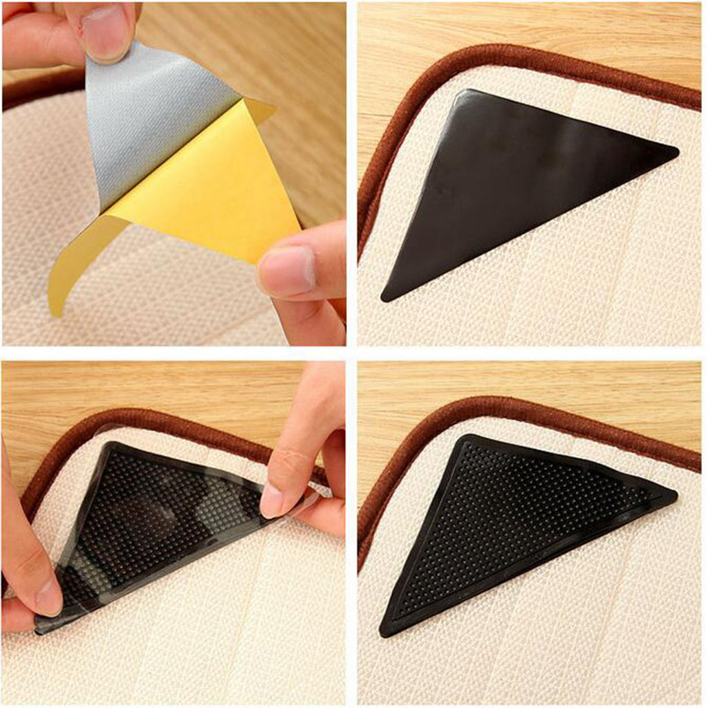 ... 4 Pcs Reusable Rug Grippers
