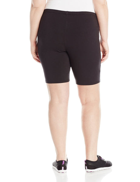 Women's Plus Size Cotton Jersey Bike Shorts