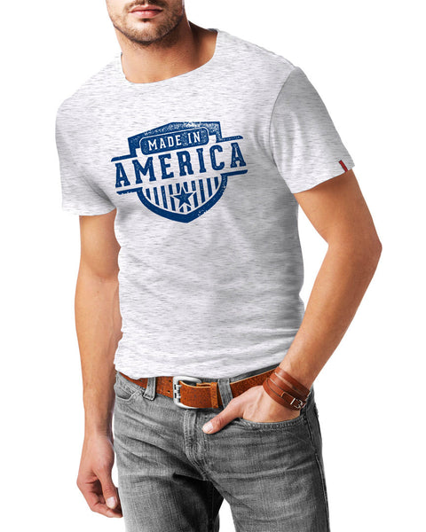 "Vintage ""Made in America"" Patriotic T-Shirt"