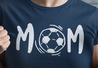 "Women's ""Soccer Mom"" Cotton T-Shirt"