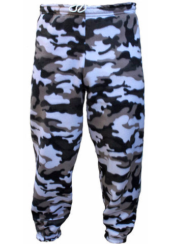 Men's Urban Camo Polar Fleece Pant