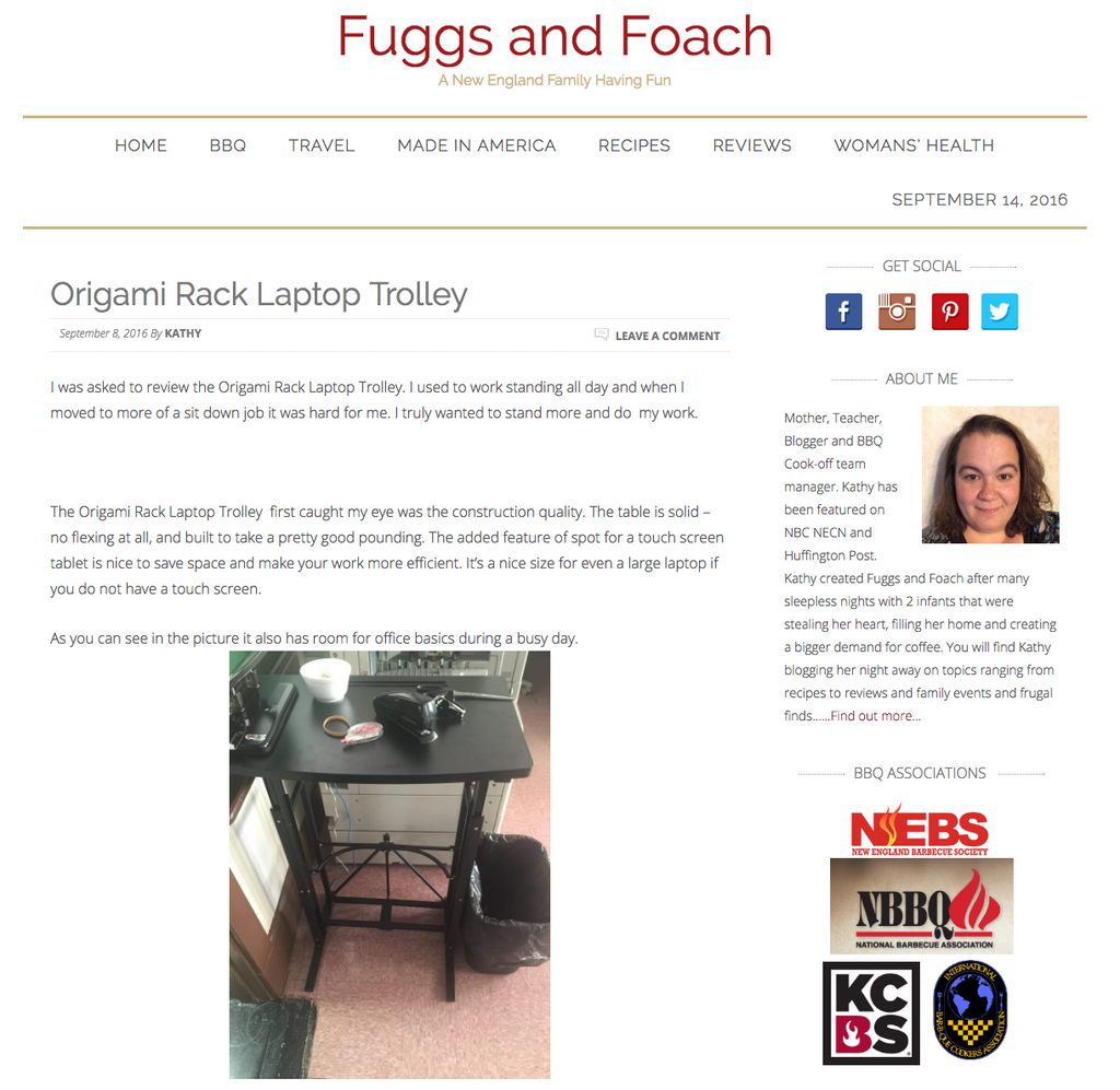Fuggs and Foach Blogger from New England has something to say!