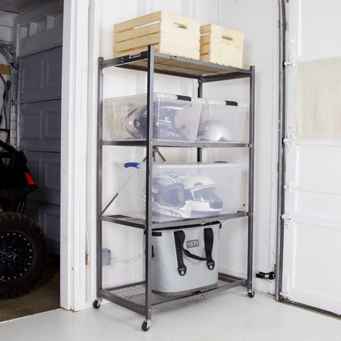 4-Tier General Purpose Shelf (with wheels) R5-01W