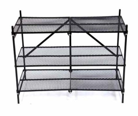 Folding Shoe Rack up to 15 pairs of shoes  RSS-02