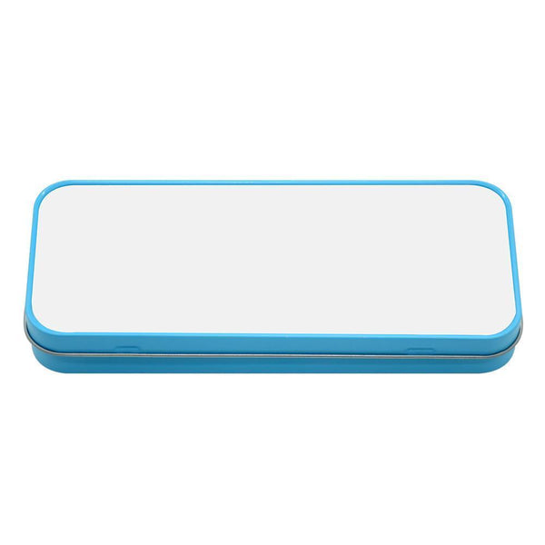Blue Pencil Sublimation Tin