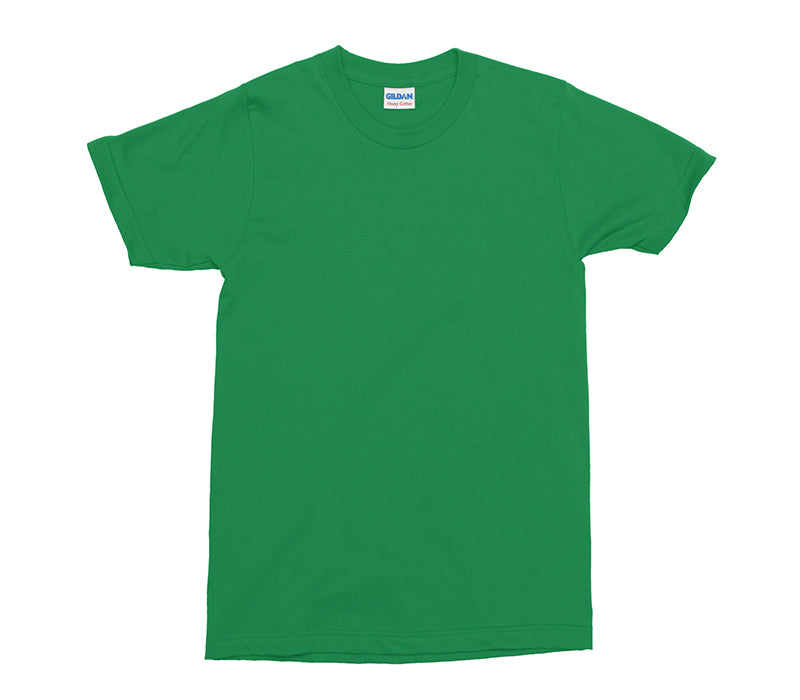 Forest Green Gildan Heavy Cotton Adult T-Shirt (GD005)