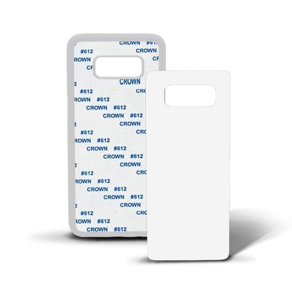 Samsung Galaxy White Rubber Sublimation Case