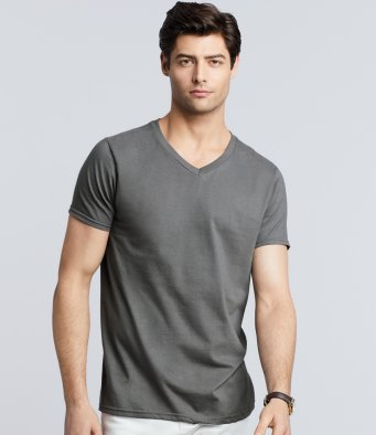 Gildan Softstyle V Neck Adult T-Shirt