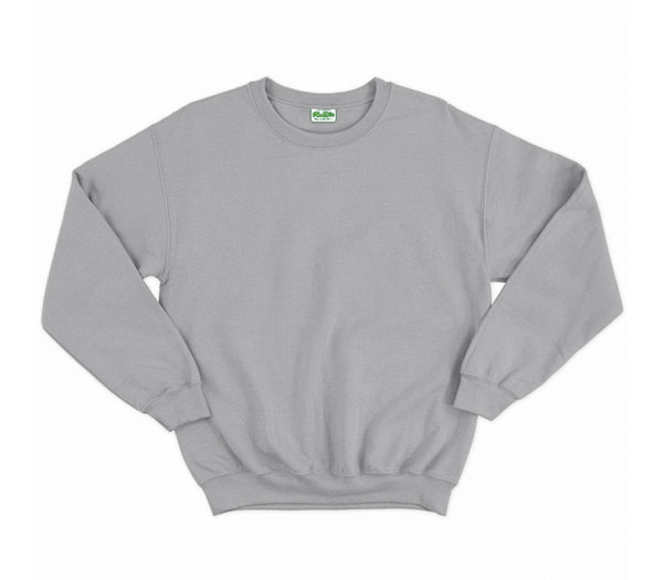 Heather Grey AWDis Adult Sweatshirt