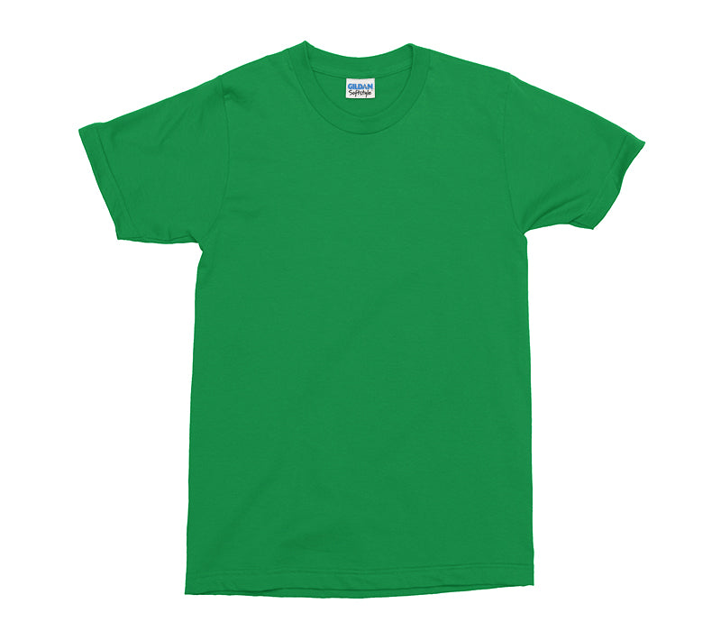 Irish Green Gildan Softstyle Adult T-Shirt