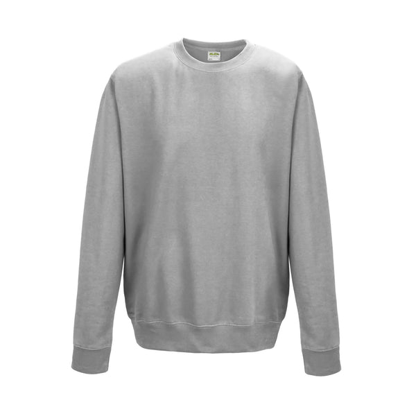Heather Grey AWDis Sweatshirt (JH030)