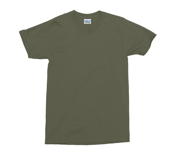 Military Green Gildan Softstyle Adult T-Shirt