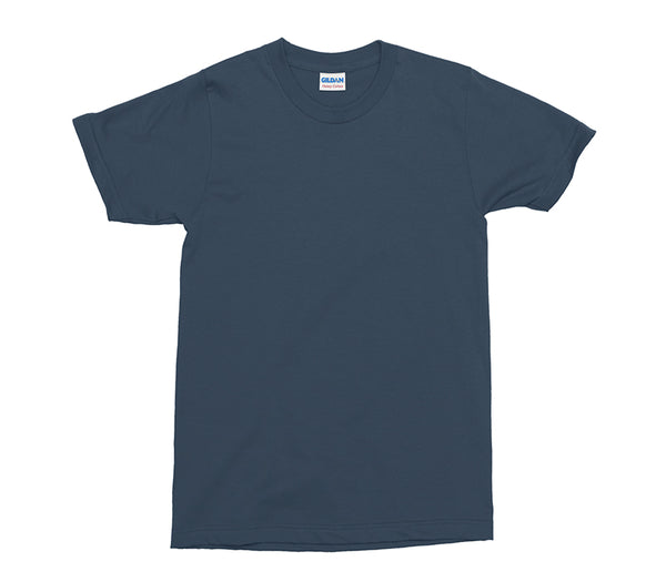 Navy Gildan Heavy Cotton Adult T-Shirt (GD005)