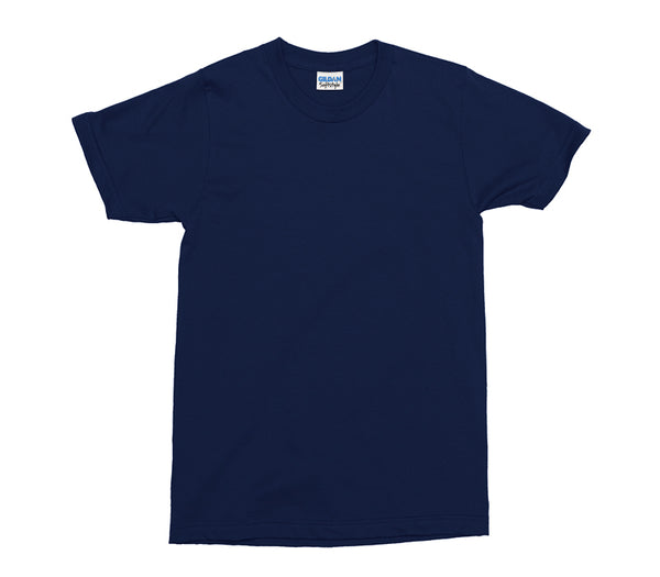 Navy Gildan Softstyle Adult T-Shirt