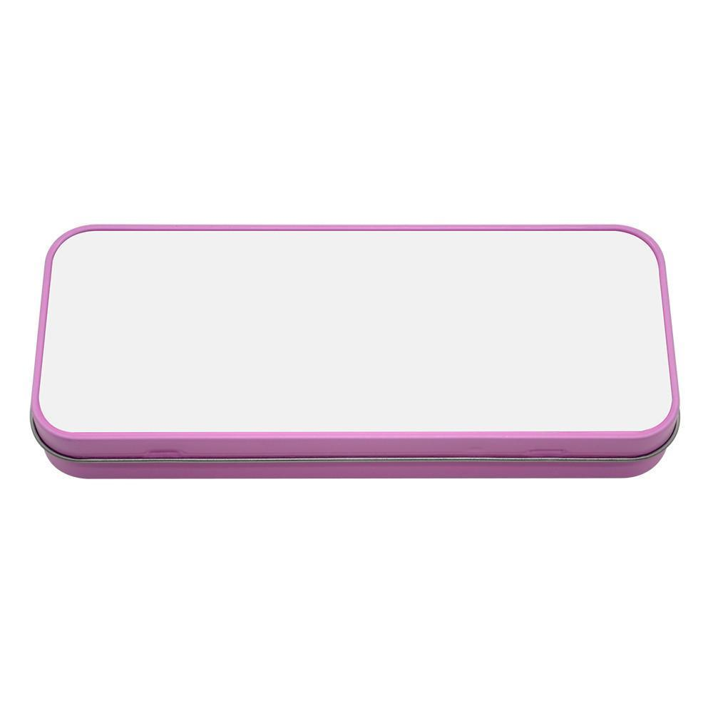 Pink Pencil Sublimation Tin