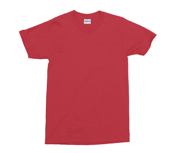 Red Gildan Heavy Cotton Adult T-Shirt (GD005)