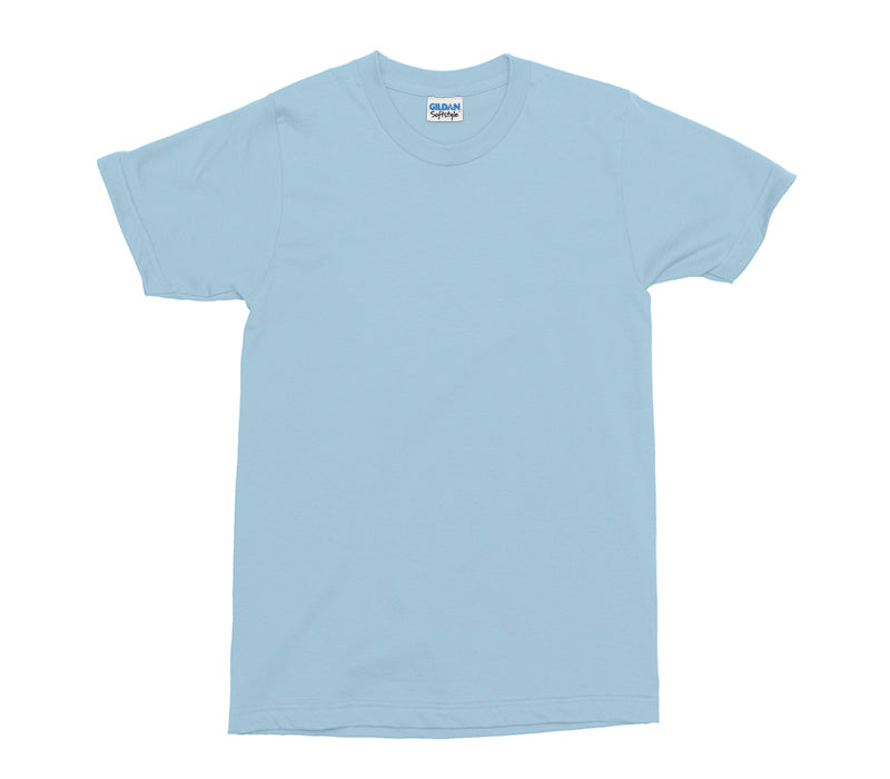 Light Blue Softstyle Adult T-Shirt