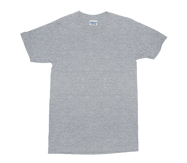Sport Grey Gildan Softstyle Adult T-Shirt