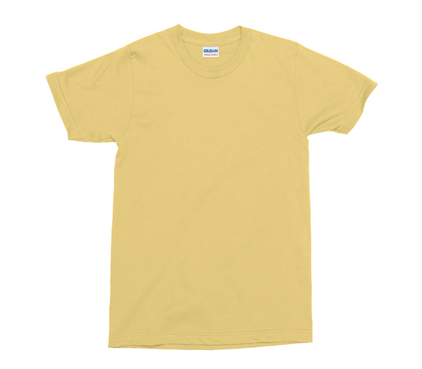 Yellow Haze Gildan Heavy Cotton Adult T-Shirt (GD005)