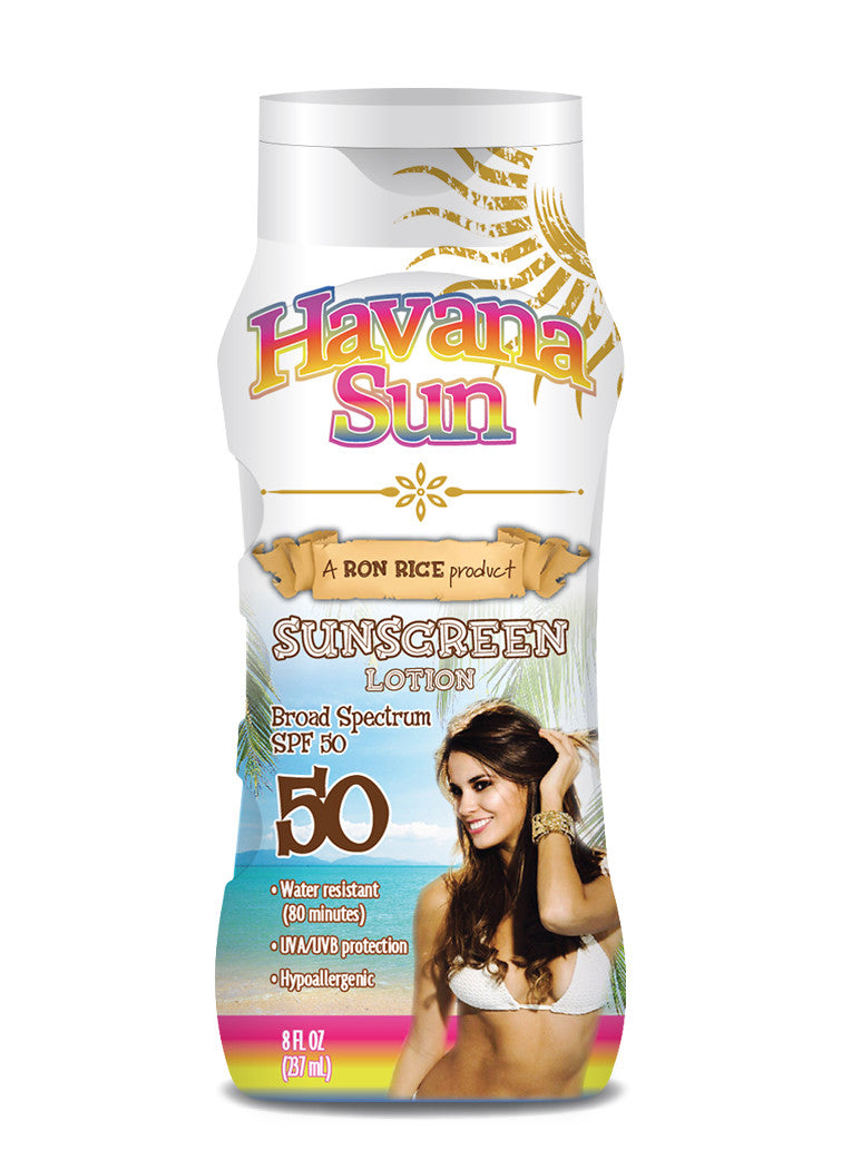 Havana Sun's Suncreen Lotion in SPF 50