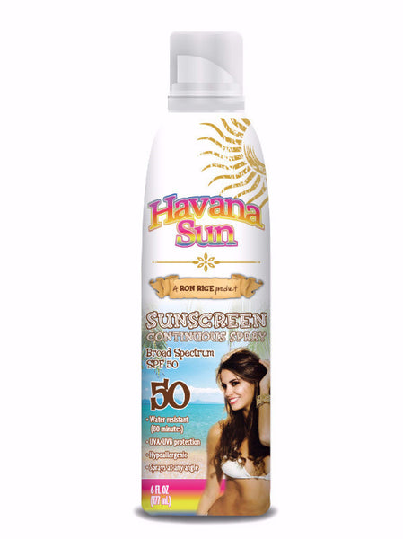 Continuous Spray SPF 50 Sunscreen