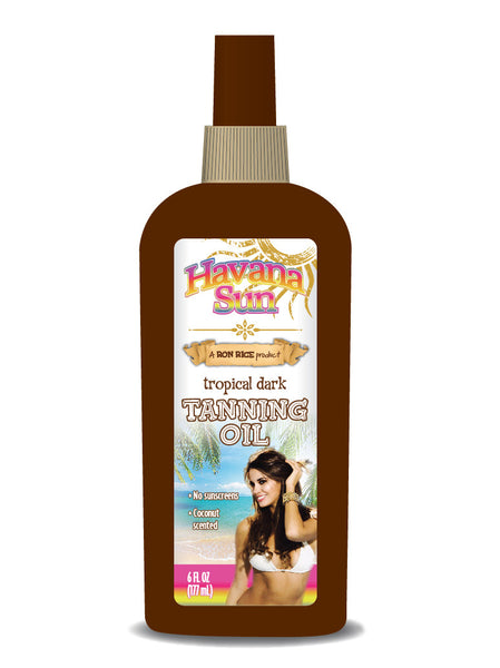 Havana Sun's Tropical Dark Tanning Oil