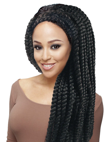 "Jazz Wave Havana Jumbo Twist Crochet Braid 12"", Hair, Hair Evolve"
