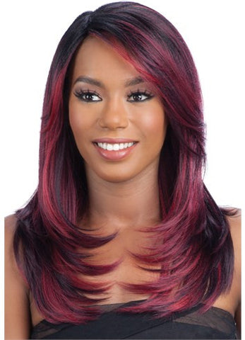 Model Model Synthetic Clean Cap Wig Number 9, Hair, Hair Evolve