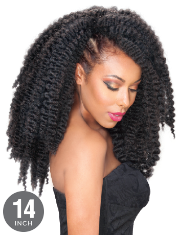 "Zury Bantu Black Crochet Braid 14"", Hair, Hair Evolve"