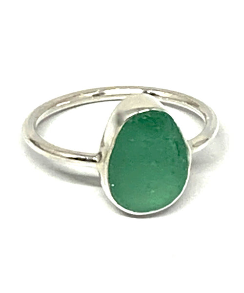 Turquoise Green Sea Glass