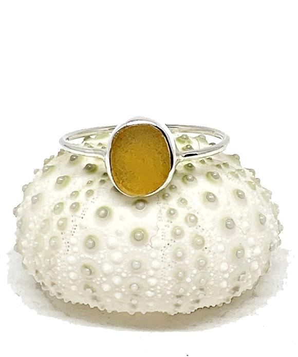Amber Sea Glass Stack Able