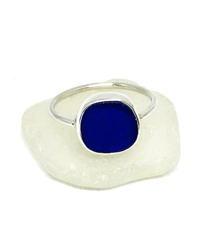 Bright Cobalt Sea Glass