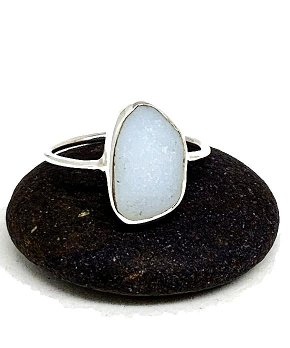 Pale Blue Jadite Sea Glass